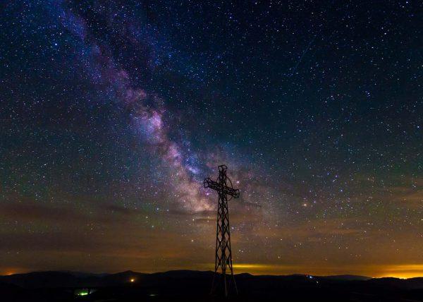 Fotografia kosmosu nocą