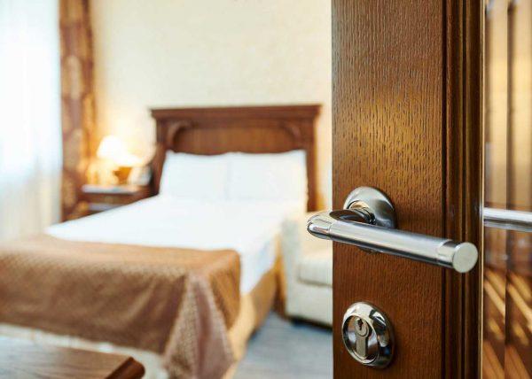 Fotografia pokoju hotelowego