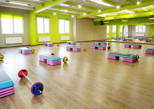Fotografia sali do fitness