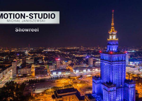 Fotografia Warszawy nocą