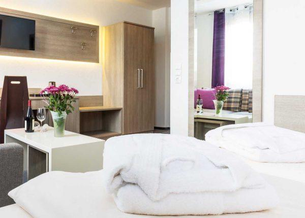 Zdjęcie pokoju hotelowego