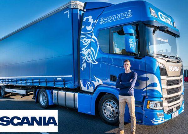 Scania nowy Tir